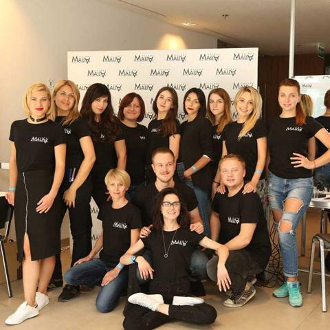 Backstage Mercedes-Benz Kiev Fashion Days 2018