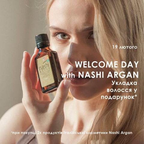Welcome day with Nashi Argan